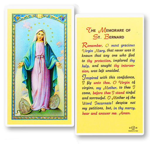 memorare_of_st_bernard_holy_card