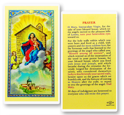 our_lady_of_loreto_house_holy_card