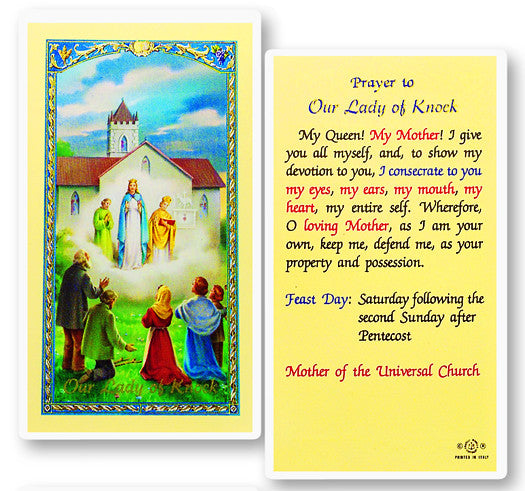 our_lady_of_knock_holy_card