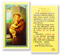 A prayer before mass by st thomas aquinas prayers catholic online image of prayer to st anthony holy card thecheapjerseys Images