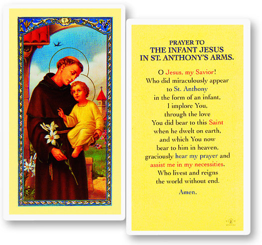 Image of PRAYER TO INFANT JESUS