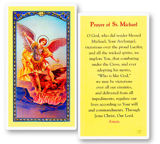 Image of PRAYER TO ST MICHAEL