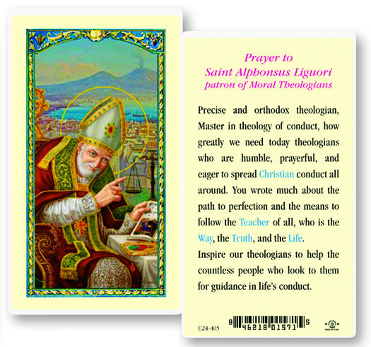 Image of ST ALPHONSUS W/PRAYER