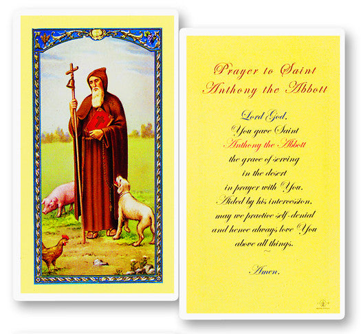 Image of PRAYER TO THE ST ANTHONY ABOTT