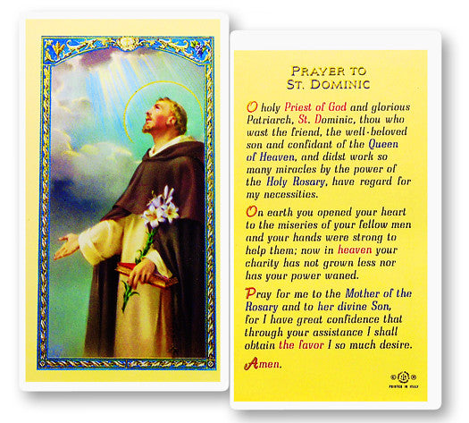 prayer_to_st_dominic_holy_card