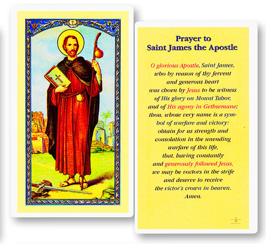 Image of PRAYER TO ST JAMES
