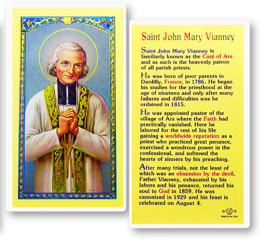 st_john_mary_vianney_biography
