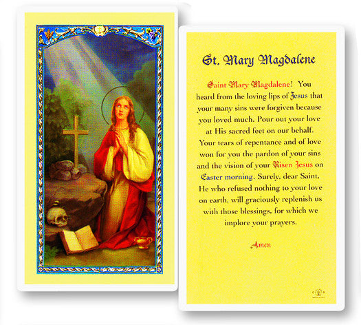 Image of PRAYER TO MARY MAGDALENE