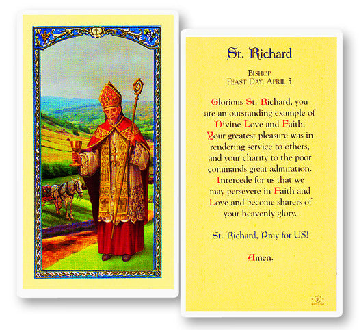 Image of PRAYER TO ST RICHARD