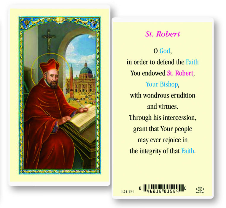 Image of ST ROBERT W/PRAYER
