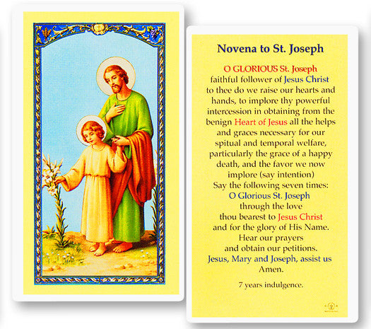 novena_to_st_joseph_holy_card