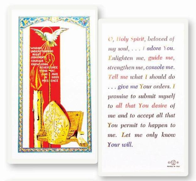 Holy Spirit Card