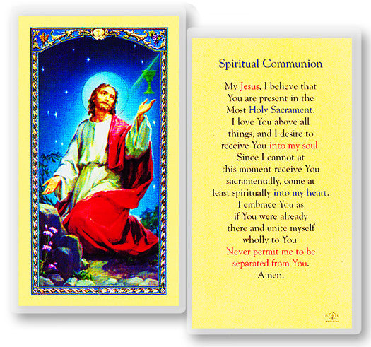 Image of SPIRITUAL COMMUNION