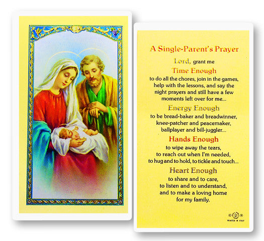 single_parents_holy_card