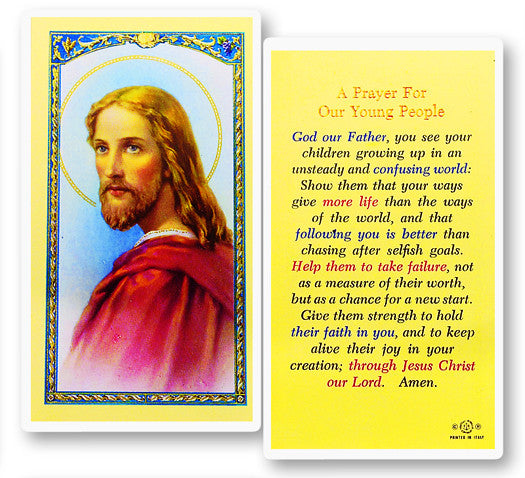 Image of PRAYER FOR OUR YOUNG PEOPLE