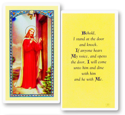 knock_at_the_door_holy_card