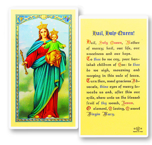 hail_holy_queen_holy_card