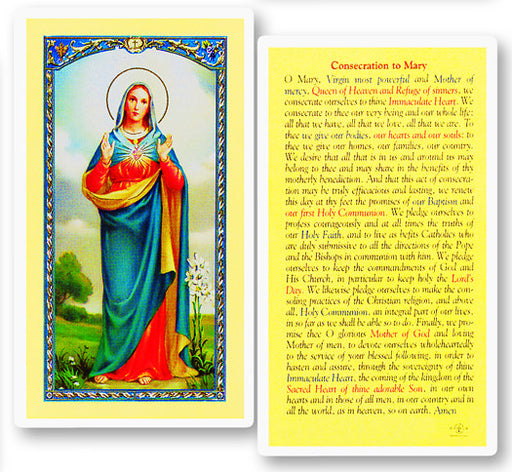 consecration_of_mary_holy_card