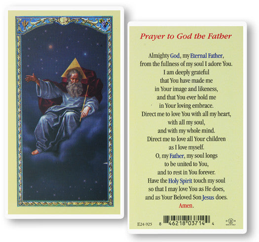 Image of PRAYER TO GOD THE FATHER