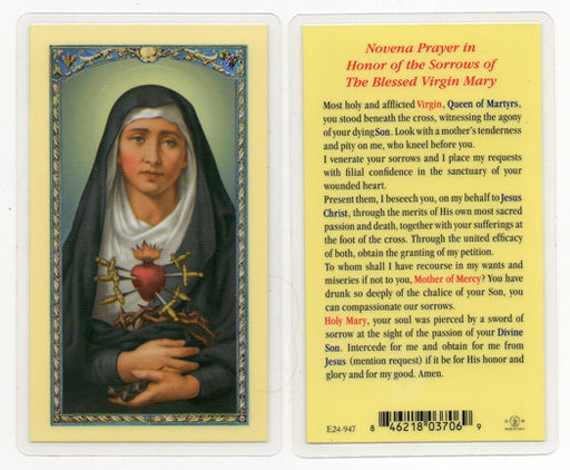 Image of SEVEN SORROWS OF MARY