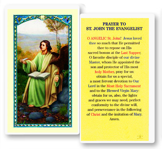 Image of PRAYER TO ST JOHN EVANGELIST