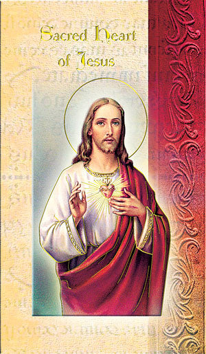 Sacred Heart Of Jesus - Biography Pamphlet