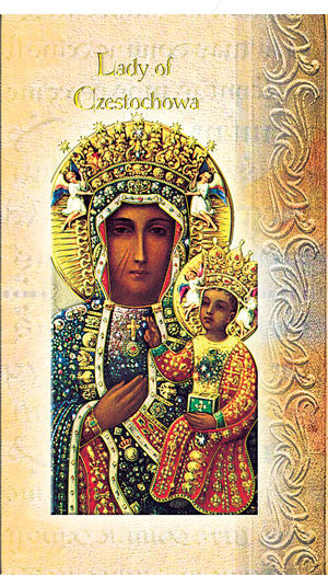 Our Lady Of Czestochowa - Biography Pamphlet