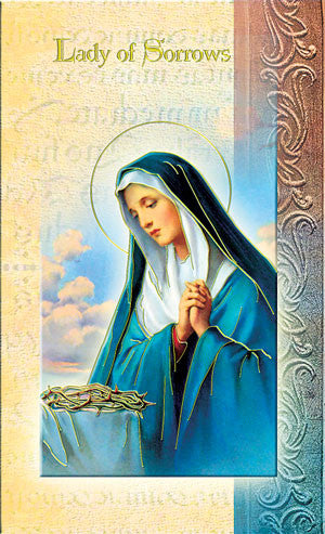 Our Lady Of Sorrows - Biography Pamphlet