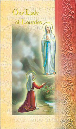 Our Lady Of Lourdes - Biography Pamphlet
