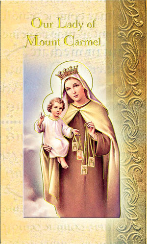 Our Lady Of Mt Carmel - Biography Pamphlet