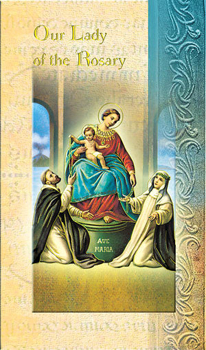 Our Lady Of The Rosary - Biography Pamphlet