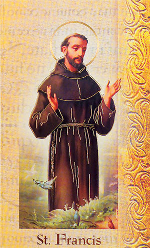 St Francis Of Assisi - Biography Pamphlet