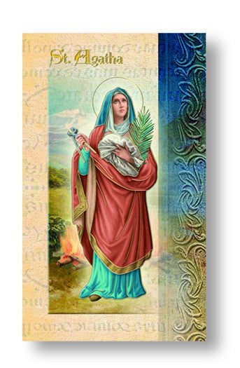 St Agatha - Biography Pamphlet