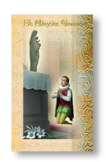 St Aloysius Gonzaga - Biography Pamphlet