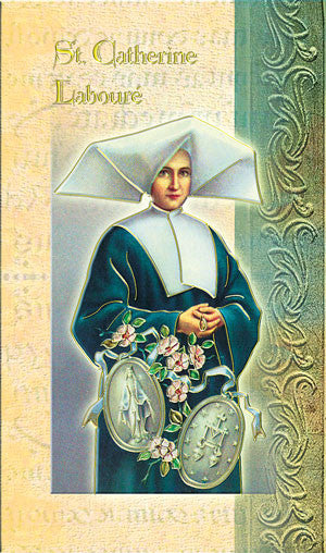St Catherine of Laboure - Biography Pamphlet
