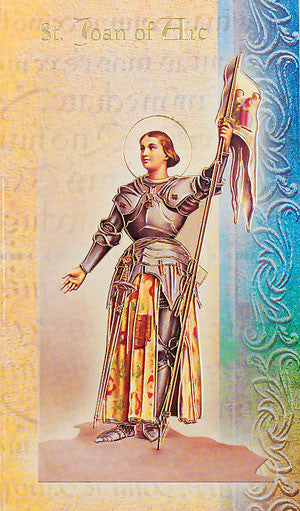 St Joan Of Arc - Biography Pamphlet