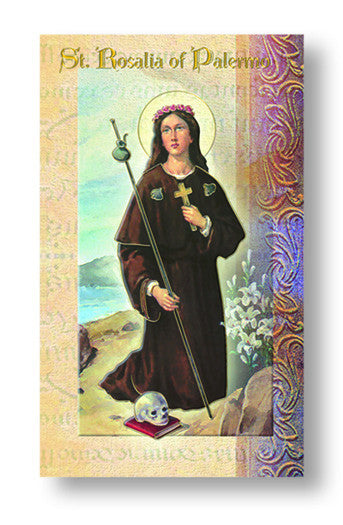 Image of BIOGRAPHY OF ST.ROSALIA OF