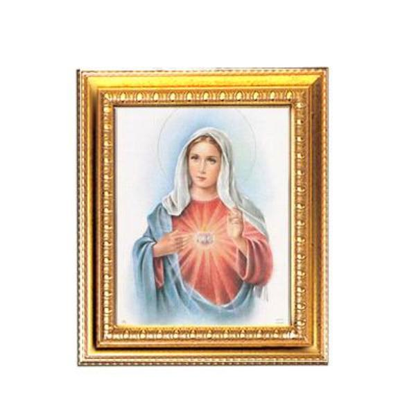 Immaculate Heart of Mary - Framed Print