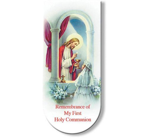 First Communion Girl Bookmark/Magnet (10 pack)