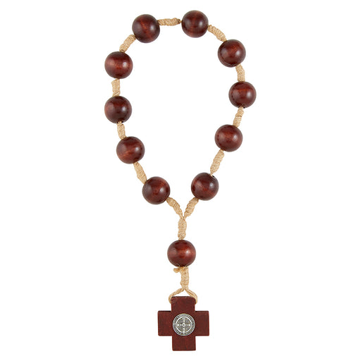 St. Benedict One Decade Door Knob Rosary