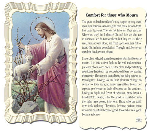 comfort_for_those_who_mourn_holy_card