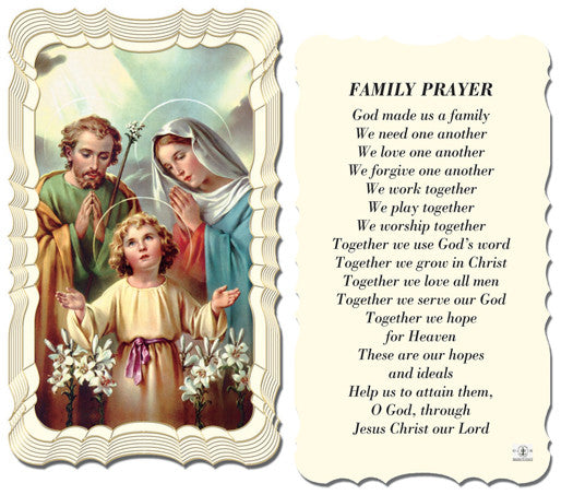 family_prayer_holy_card