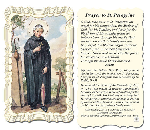Image of PRAYER TO ST PEREGRIME HOLY