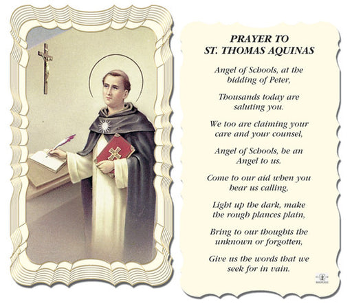 st_thomas_aquinas_holy_card