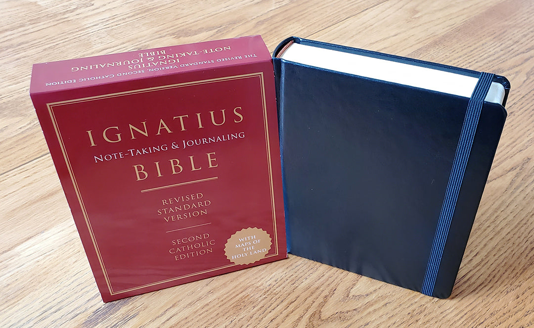 Ignatius Note-taking & Journaling Bible