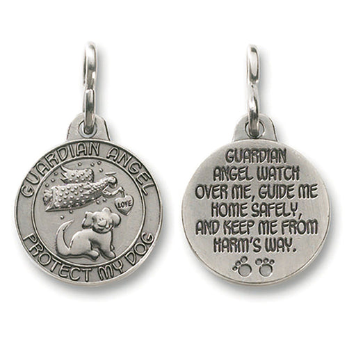 Guardian Angel 'Protect My Dog' Pet Medal