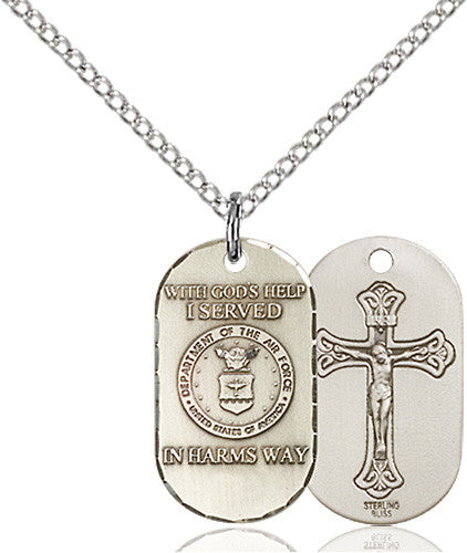 Image of Air Force Pendant (Sterling Silver)