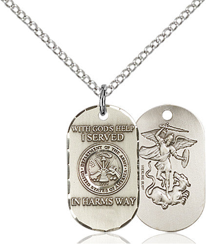 Image of Army Pendant (Sterling Silver)