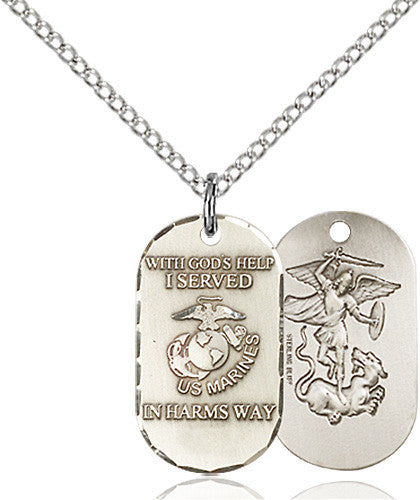 Image of Marines Pendant (Sterling Silver)