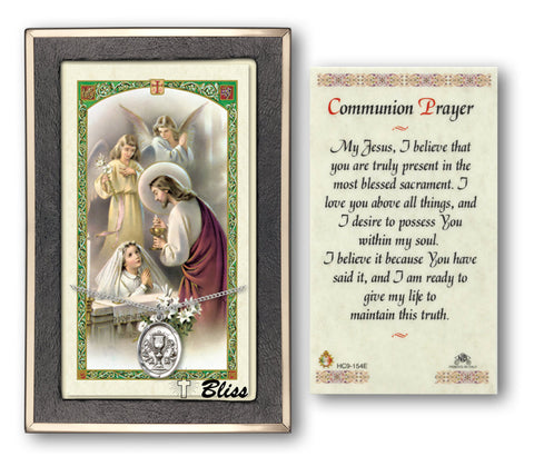 Image of Chalice Silver Filled Prayer Card
